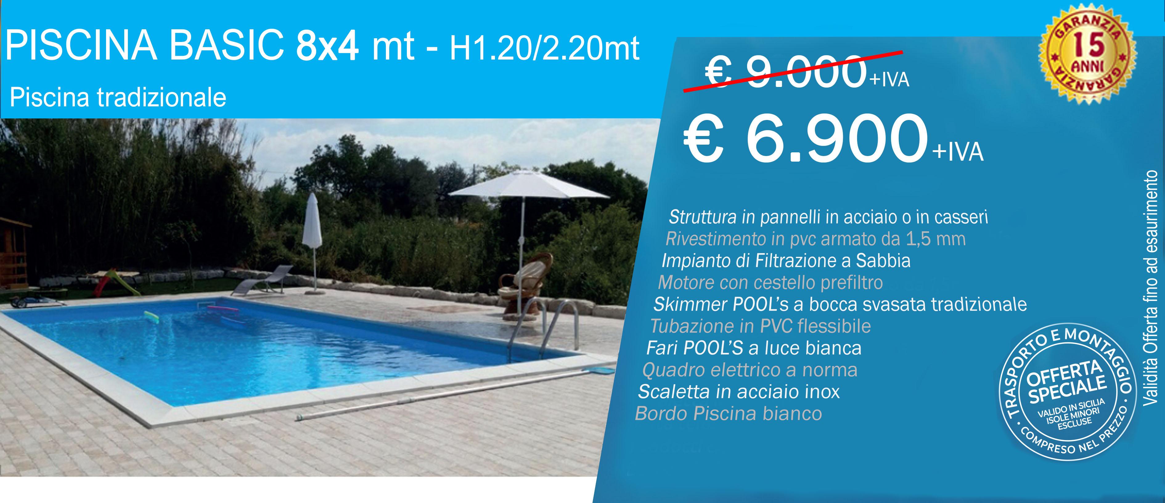 Vendita Piscine A Catania promo 2020 - piscine in kit