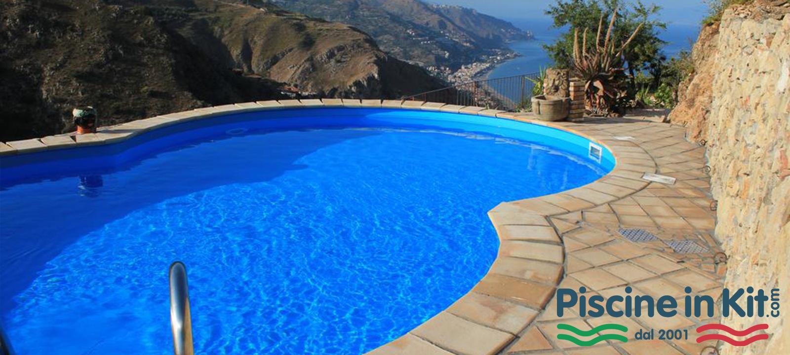 Vendita Piscine A Catania costruzione piscine ovali e forma di otto - piscine in kit